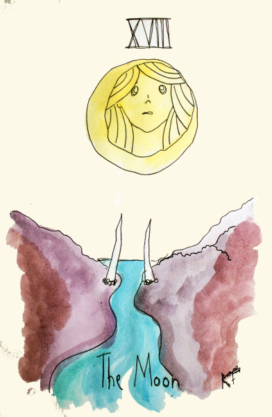 Major Arcana xviii - The Moon