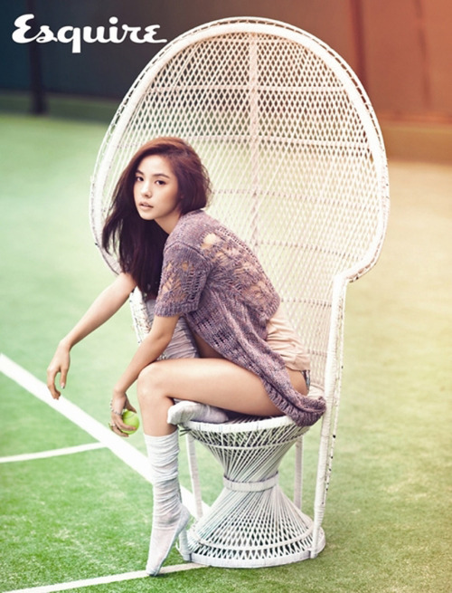 Esquire Korea Model: Min Hyo Rin