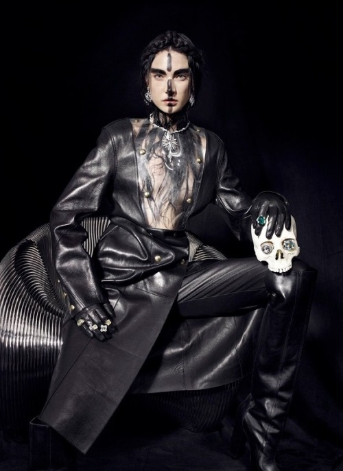 spinningbirdkick:  Pierpaolo Ferrari / CR Fashion Book #1 Fall 2012.
