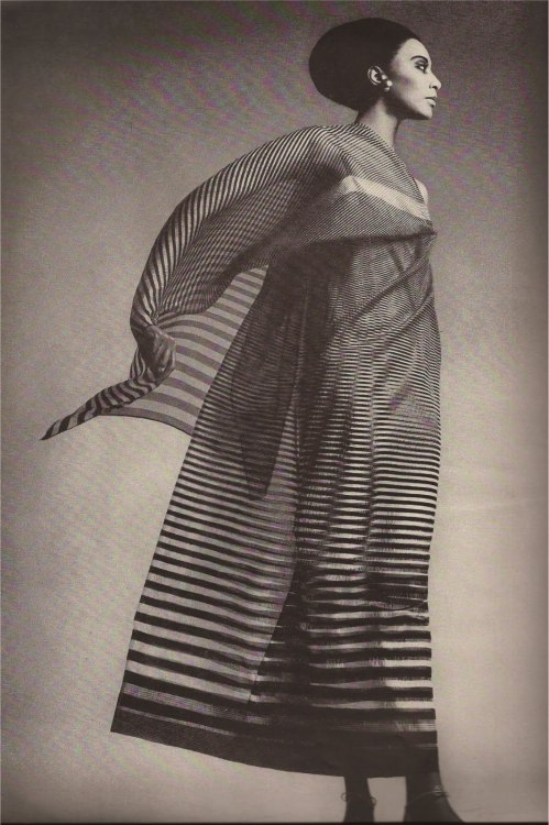 Donyale Luna by Richard Avedon for Harper's Bazaar, April 1965