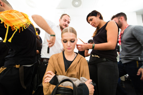 Gucci Women's SS 2013 Fashion Show: Backstage