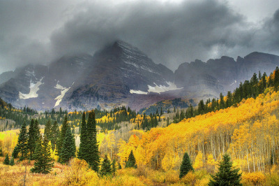 valscrapbook:  Maroon Bells, Aspen by Creativity+ Timothy K Hamilton on Flickr.