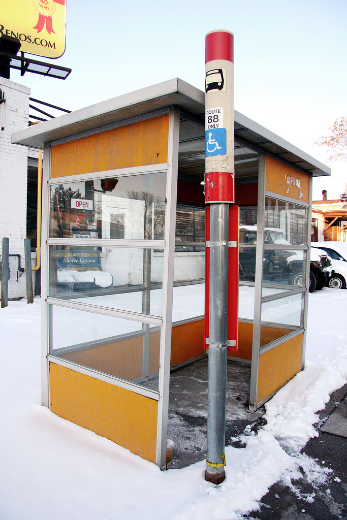 Leaside bus shelter