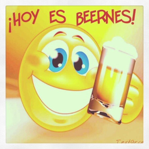 ¡Hoy es Beernes! ¡Hoy es Viernes! #Beernes #Textgram #Instagram #Android #PR #PuertoRico #Weekend (Taken with Instagram at corozal PR-805)