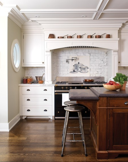 georgianadesign:  Chef David Lee's kitchen in House & Home.