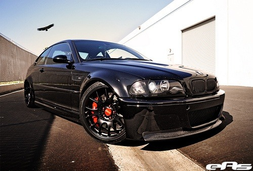 Black e46 M3 w/ Matte Black BBS CH-R Wheels 1 by european auto source