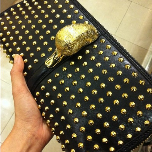 Prorsum studded beauty! #Burberry #burberryprorsum #studs #duck  (Taken with Instagram)
