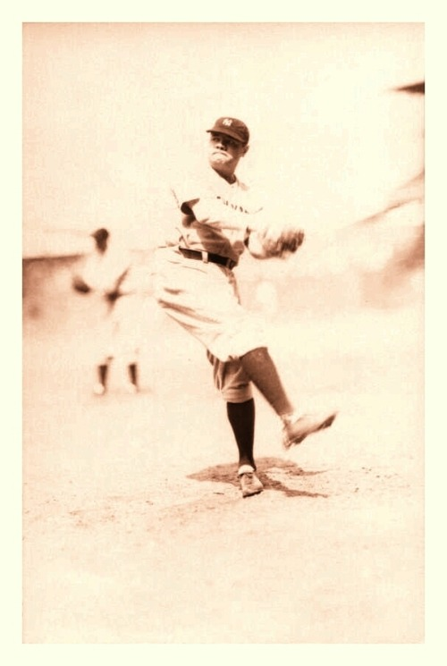 The Babe Warms Up  c.1931-32