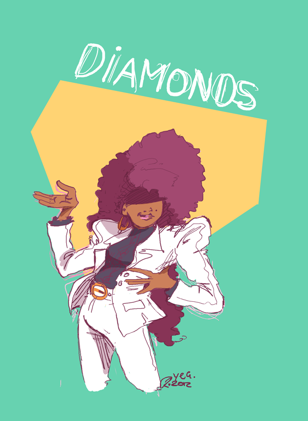 Found a really awesome remix of Janet/Herb Albert's Diamonds and now I'm a bit hooked.