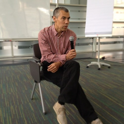 Yandex CTO/co-founder sharing his war stories with us #goap  (Taken with Instagram at Яндекс / Yandex HQ)