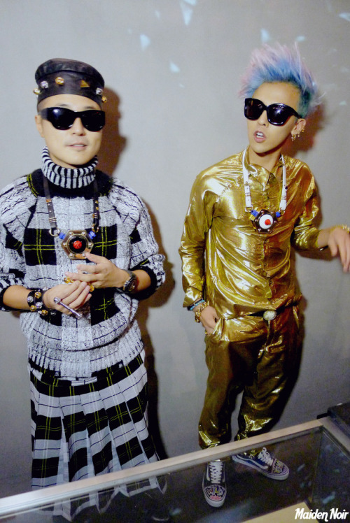 AMBUSH x GDRAGON Launching party @ My Boon c: http://maidennoir.tistory.com