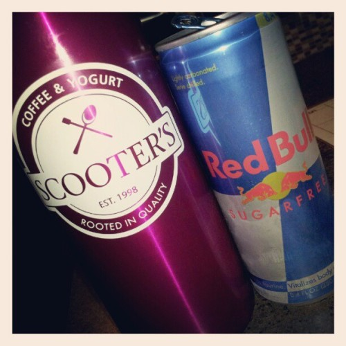 Pretty sure my blood stream is 60% caffeine at this point. #coffee #redbull #morning (Taken with Instagram)