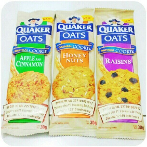 @primadika #quaker #oats #oatmeal #cookies #instagram #instaphoto #instaworld #android #androidphoto #pingram #pingramme #hellogram #instadaily #instacnvs #photooftheday #instago #instagramers #picoftheday #instacanvas #instadaily #instagramhub #gf_daily #gang_family #extragram (Taken with Instagram)