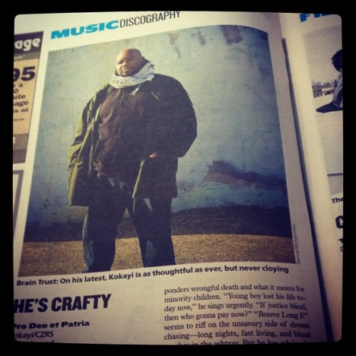I'm crafty! Via the washington city paper. Jyeah! #homelove #dc #imakerecords  (Taken with Instagram)