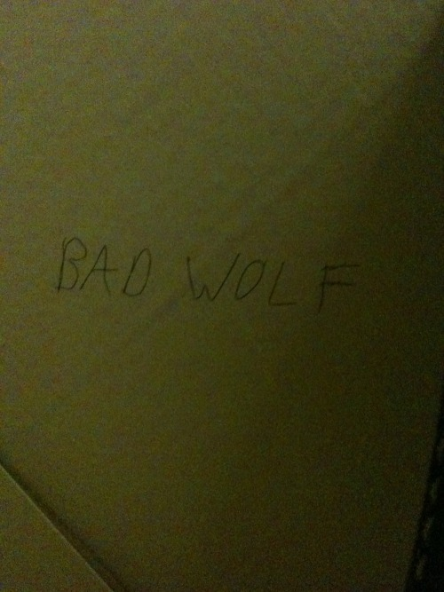 Oh, look what I found on a bathroom wall.