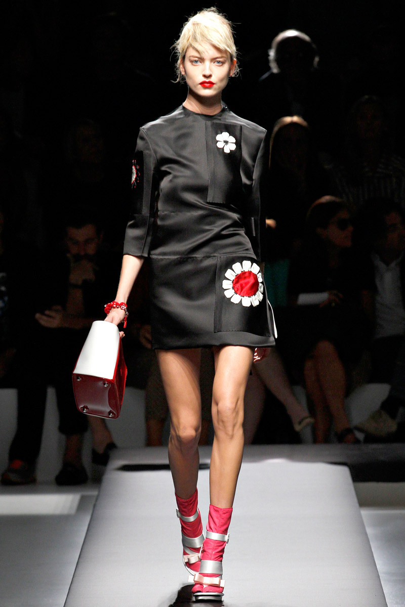 Prada Spring 2013 Photo: Marcus Tondo/GoRunway.com Go to Vogue.com for the full collection and review.