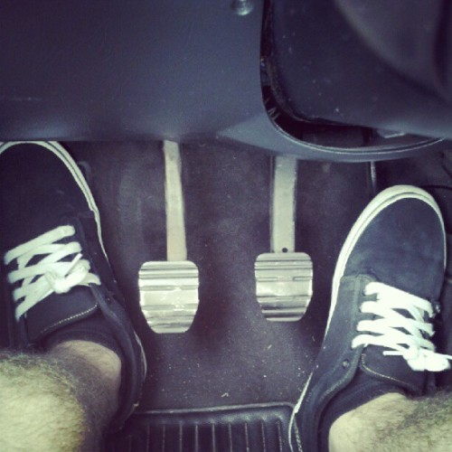 Whippin' hard in the #vans.  (Taken with Instagram)