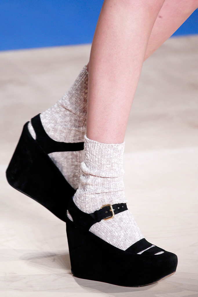 Socks & sandals at Marc by Marc Reaffirming my faith in things.