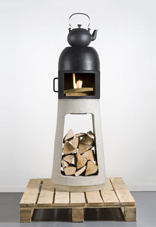 Wood Stove by Yanes Wühl