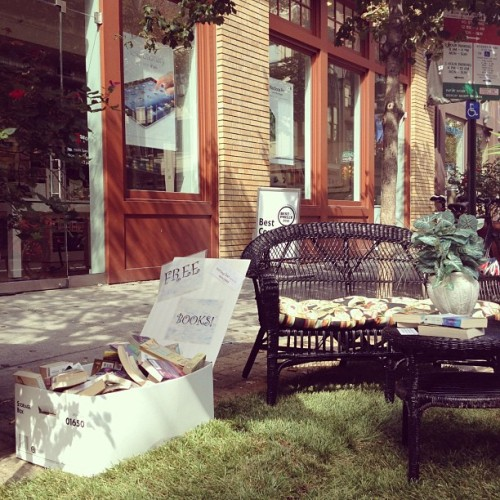 Park(ing) Day in Philly! (Taken with Instagram)