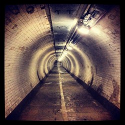 Greenwich Foot Tunnel (Taken with Instagram at Greenwich Foot Tunnel)
