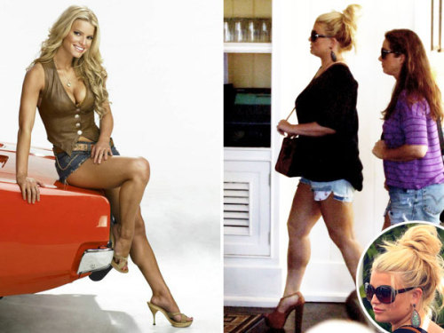 PHOTOS: Jessica Simpson dons Daisy Dukes for fiancé Eric Johnson's birthday!