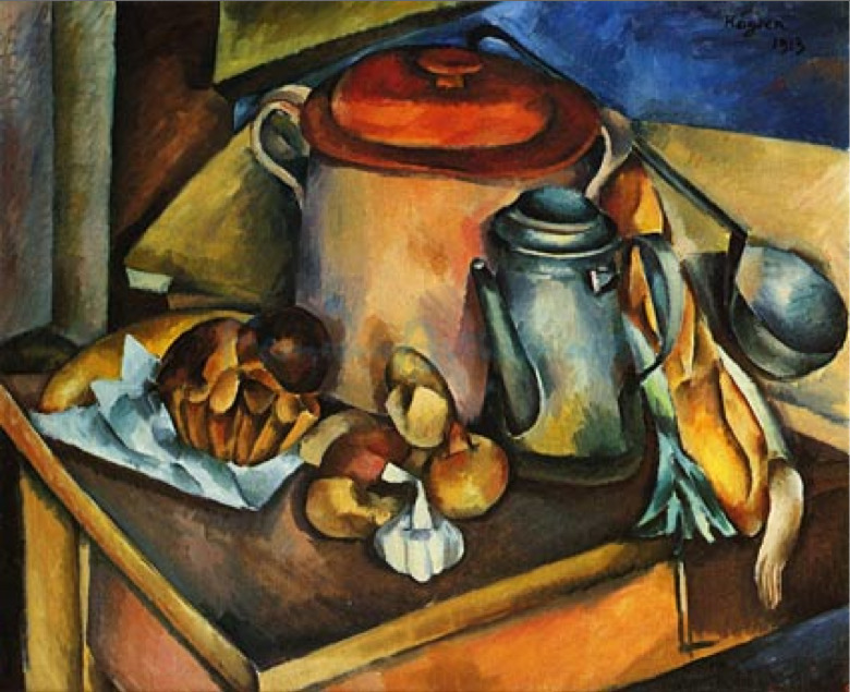 Henri Hayden (French 1883-1970) - Still Life with a Dining Table
