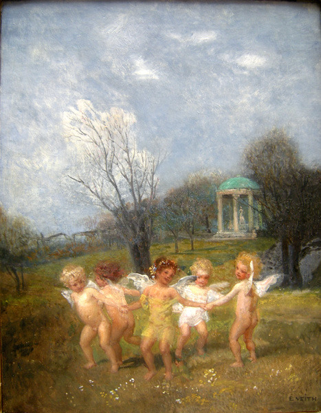 "Eduard Veith  ""Children at Play"""
