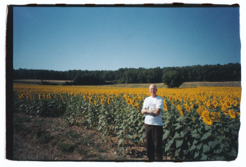 On retreat at Plum Village in southern France, 2005.
