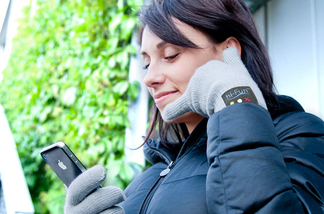 First up on today's BritList, Bluetooth-enabled gloves that double as a handset for your phone. Amazing.