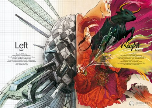 Left and Right Brain By Y&R Israel  Client: Mercedes-Benz