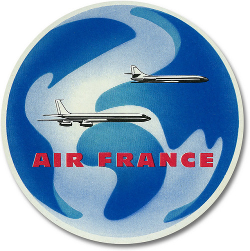 Air France luggage label. by totallymystified on Flickr.
