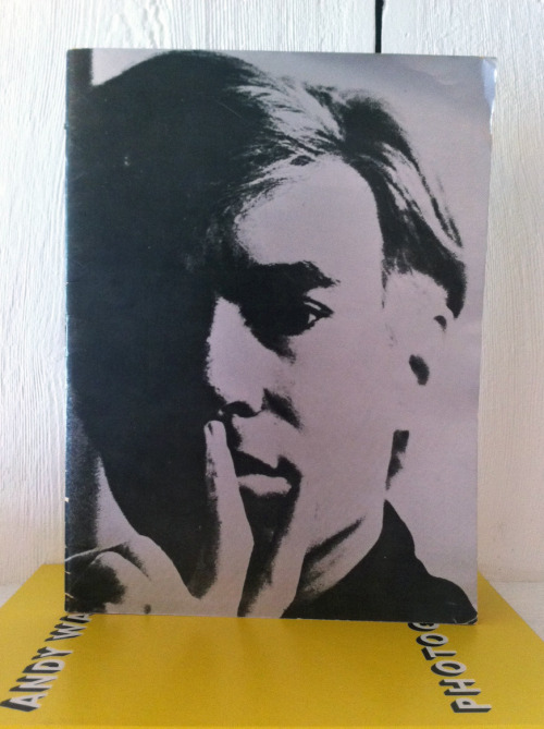 "Andy Warhol Catalog of the Exhibition/October 1- November 6, 1966 ""Andy was Andy. His face wholly inexpressive"" Institute of Contemporary Art, Boston, 1966 10¼ X 13 INCHES  (26 X 33 CM) $1000 PURCHASE"