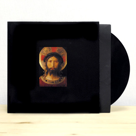 Black on black on black. Xiu Xiu's The Air Force is back in print and available in our E-Store.