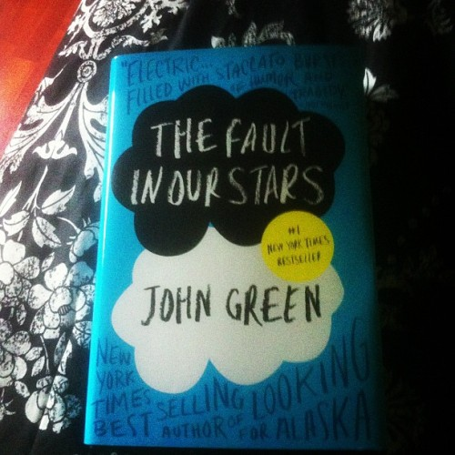 Finally came in the mail! #JohnGreen #TheFaultInOurStars #book #reading (Taken with Instagram)