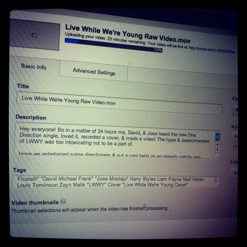 After literally 24 hours of work #LWWY #Uploading =) (Taken with Instagram)