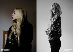 Fashionfield.nu Photographer: Evelina Nylander Stylist: Emily Parsons Hair: Alejandro Ramirez Model: Allis Å, Mikas Stockholm