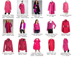 Fuchsia, Magenta, Neon Pink. The combination of these color and black is at the peak of popularity. Captivating, stimulating, a gorgeous shade will pop you out of the crowd. Magenta is easier to wear than neon pink or ultra-bright fuchsia, but still has plenty of pop. Don't want black, go with gray, tan, yellows, lime green and browns. But consider this as well: the mint has a calming effect on brisk fuchsia.