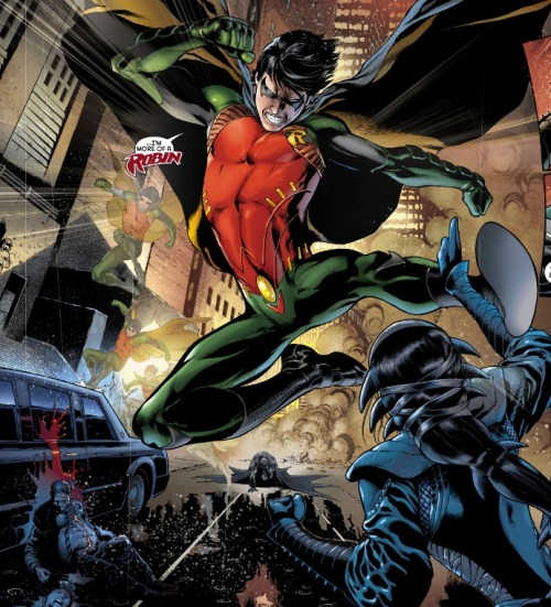 The fuck is that Robin costume? From Nightwing #0