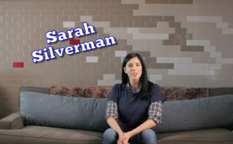 VIDEO: Sarah Silverman Talks Voter Fraud She's got my disenfranchised vote.