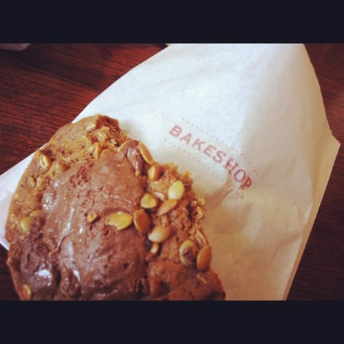 Sweet and Salty Bakeshop cookie  (Taken with Instagram)