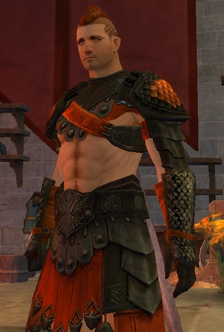 alexander-of-caledon:  Theo Castaigne, Human/Guardian, Lvl32, rocking some skintastic armor in Divinity's Reach.  Pretty sure I have a fetish for human males in this armor.  LEMME BORROW THAT TOP