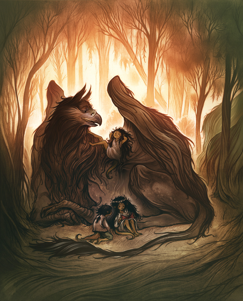 Cory Godbey, Troll Children with Gryphon On Tumblr