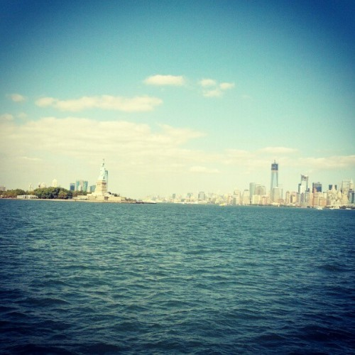 Taken with Instagram at New York Harbor
