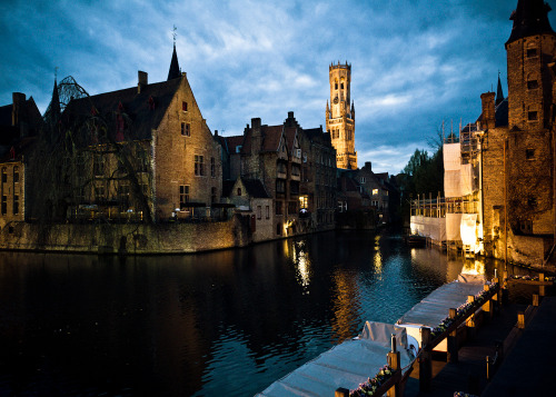 allthingseurope:  Bruges Canal Beauty (by scottdmundy)