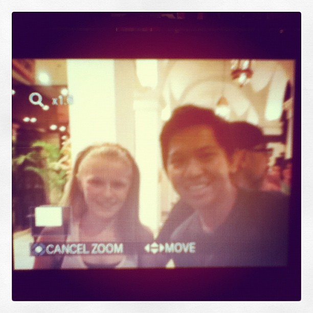 Finally!!!!! With my crushie @CavanaghAI11… So pretty! Enjoyed the concert! (Taken with Instagram at Manila Hotel)