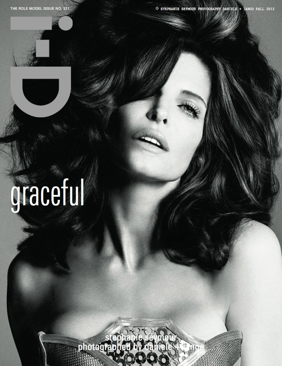 Photographed by Daniele + Iango. Supermodel: Stephanie Seymour.