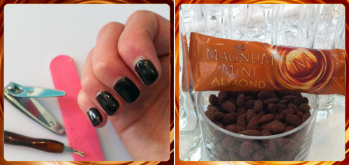 Tell us: What brings you more pleasure? MAGNUM Mini or a manicure?