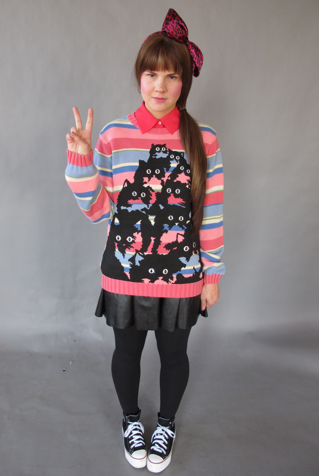Pretty Snake Cat Sweater