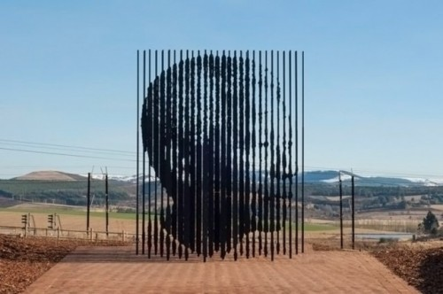 laughingsquid:  Release, Stunning Monumental Sculpture to Nelson Mandela